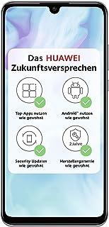 Huawei 51093NNQ P30 lite Dubbel-SIM 128 GB 6,15'' Smartphone, Vit, Tysk Version