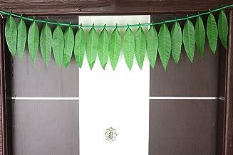 S2S Artificial Mango Green Leaf Door Toran (Green Leaf Toran) Pack of 2