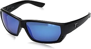 675c6b44cc Costa del Mar Unisex-Adult Tuna Alley TA 25 OBMGLP Polarized Iridium Wrap  Sunglasses