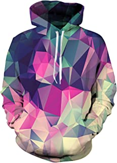 GUAHUAXIANG Athletic Pullover Hoodie Hooded Sweatshirt for Mens Camouflage