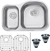 soapstone double sink