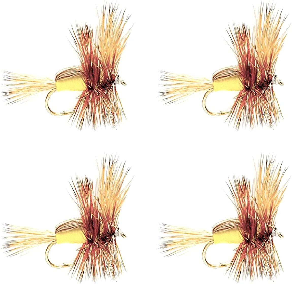 The Fly Fishing Place Yellow Trout Classic Fashionable Dry SEAL limited product Humpy