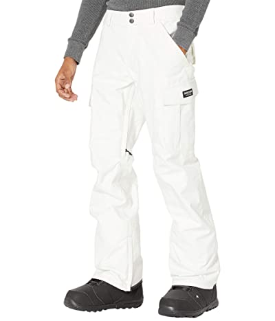 Burton Cargo Pant Regular Fit (Stout White) Men