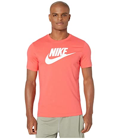 Nike NSW Icon Futura Tee (Ember Glow/White) Men