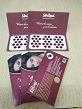 shilpa sticker bindi sizes