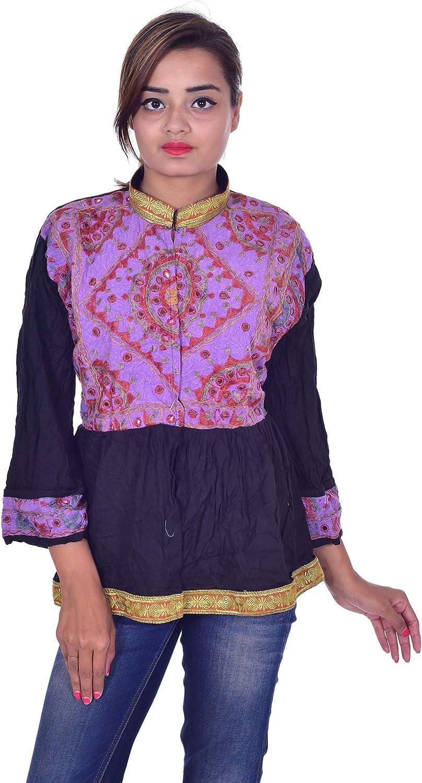 Lakkar Reservation Haveli Indian 100% Cotton Jacket Mirror 2021new shipping free shipping Wor Banjara Women