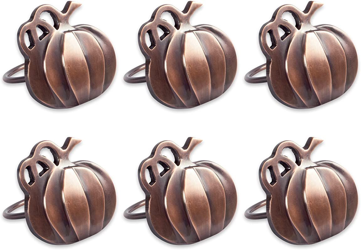 DII Thanksgiving Napkin Rings For Dinner Parties Weddings Receptions Family Gatherings Or Everyday Use Set Your Table With Style Pumpkins Set Of 6