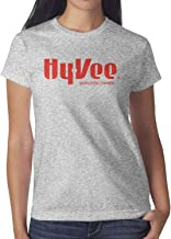 Hy-Vee Image Women's Short Sleeve T Shirt Cotton Fashion Shirt Outdoor Summer Moisture Wicking Round Neck Tops