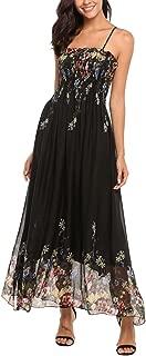 Women's Empire Waist Tank Summer Sleeveless V Neck Dress