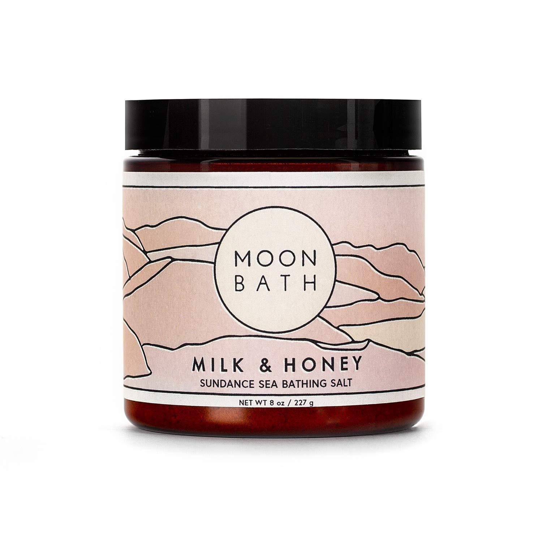 Milk + It is very popular Honey Sundance Sea Soak Scrub Bath Salt Bathing half