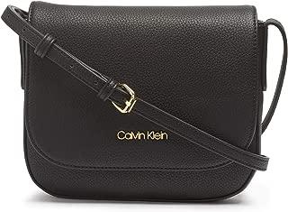 Calvin Klein Rachel Vegan Leather Small Flap Crossbody