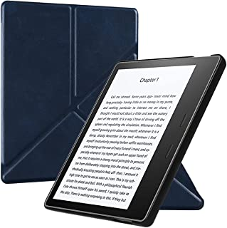 BOZHUORUI Origami Stand Case for All-New Kindle Oasis (10th Gen, 2019 Release & 9th Gen, 2017 Release) - Lightweight Slim ...