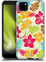 Head Case Designs Floral Hawaiian Patterns Soft Gel Case Compatible with Huawei Y5p / Honor 9S