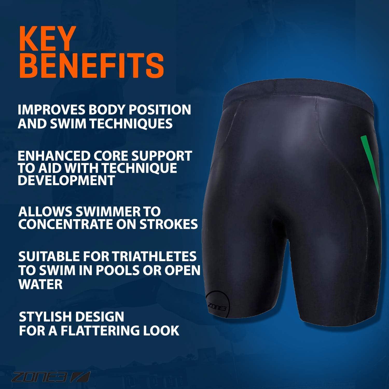 Zone3 Neoprene Buoyancy Shorts The Next Step 3//2mm