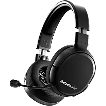 SteelSeries Arctis 1 Wireless – Wireless Gaming Headset – USB-C Wireless – Abnehmbares ClearCast Mikrofon – für PS4, PC, Nintendo Switch, Android