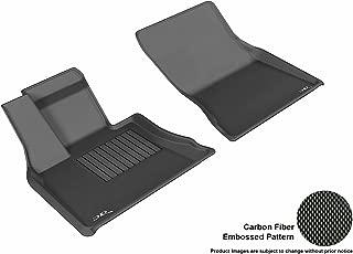 3D MAXpider L1BM05511509 Front Row Custom Fit All-Weather Floor Mat for Select BMW X5 (F15)/ X6 (F16) Models - Kagu Rubber (Black)