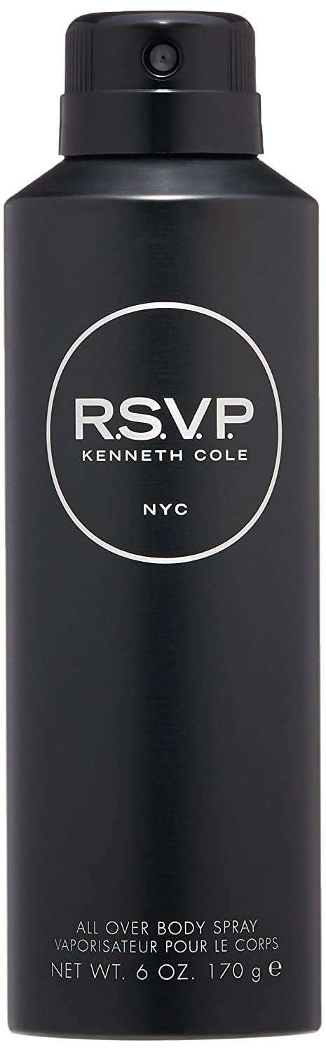 Kenneth Cole New Free Shipping RSVP Body Spray for Oz 6 online shop Men