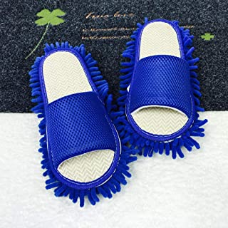 Treslin Women's Comfort Slippers,Breathable Memory Sponge Slippers,Four Seasons Japanese and Korean Lazy Wipes Slippers Wooden Floor Cleaning Mopping Slippers