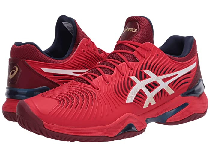 ASICS  Court FF 2 (Classic Red/White) Mens Volleyball Shoes