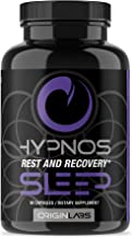 Hypnos Sleep by Origin Labs - Rest and Recovery - Sleep Aids for Adults - Sleep Supplements - Recovery Supplements - Health Supplements - Sleeping Pills - Valerian Root - 90 Capsules