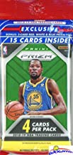 2018/2019 Panini PRIZM NBA Basketball JUMBO FAT CELLO Pack with 15 Cards including (3) EXCLUSIVE Red, White & Blue PRIZMS! Look for RCs & Autos of Luka Doncic, Deandre Ayton,Trae Young & More! WOWZZER