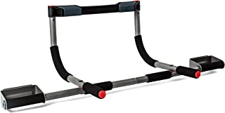 Perfect Fitness Multi-Gym Doorway Pull Up Bar Portable Gym System (Renewed)