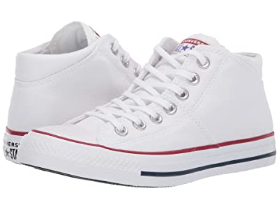 Converse Chuck Taylor(r) All Star(r) Madison True Faves Mid (White/White/White) Women