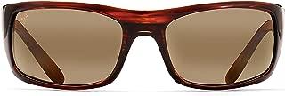 Peahi Polarized Matte Black Wrap Frame Sunglasses