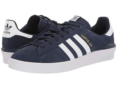 adidas Skateboarding Campus ADV (Collegiate Navy/Footwear White/Footwear White) Skate Shoes