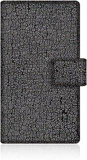 CaseMarket Amazon.co.jp 【手帳式】 CaseMarket PANTONE 6 (200SH) スリム ケース [ ブラック フェイク デニム ダメージ クラシックス ]  200SH-VCM2D2105
