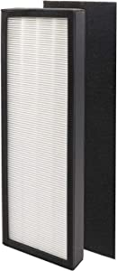 True HEPA Filter Repalcement for GermGuardian FLT4825 Series Air Purifier Filter B, Model AC4825 AC4300 AC4800 4900,1 HEPA and 1 Pre-Filter