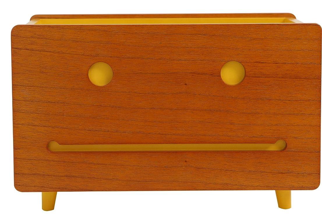 シンボルキウイ証明書MASSTIGE DECO(マスティージ デコ) マカロンファミリー マルチBOX(L) FSL-05 イエロー 31×17×20.3cm FSL-05