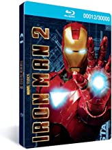 Iron Man 2: 3-Disc Combo Pack (Limited Edition with Metal Packaging & 3D Cover) [Blu-ray]