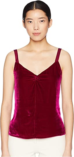 Sleeveless Velvet Cami