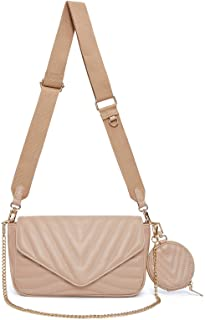 Small Quilted Crossbody Bags for Women Stylish Designer...