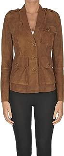 DESA Luxury Fashion Womens MCGLCSL0000A7001E Brown Jacket | Season Outlet