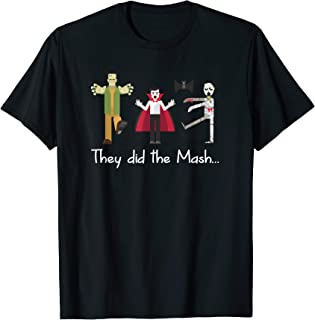 They did the Mash... Monster Mash Funny Halloween T-Shirt