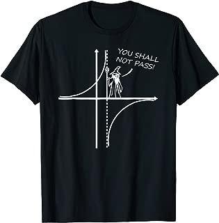 you shall not pass math t shirt