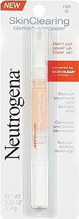 Neutrogena Skinclearing Blemish Concealer, Fair 05.05 Oz.