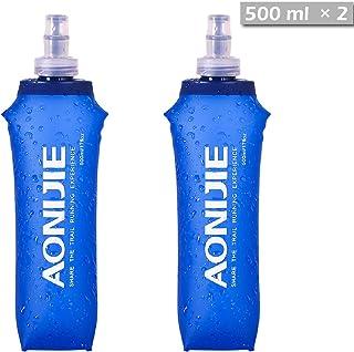 TRIWONDER TPU 折りたたみ 水筒 ボトル ウォーターボトル スポーツボトル ジョギング マラソン サイクリング ハイドレーションパックハイドレーションパック用