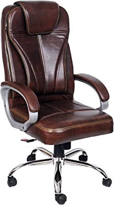 CELLBELL C51 High Back Revolving Boss Chair[Wooden Brown]