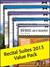 Alfred's Recital Suites Value Pack 2013 - By Melody Bober, Robert D. Vandall, Dennis Alexander,Tom Gerou, Bernadine Johnson - Packet