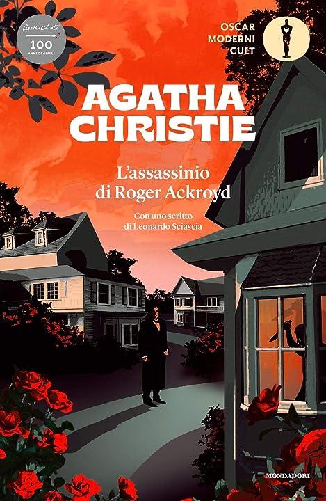 L`assassinio di roger ackroyd (italiano) copertina flessibile mondadori 978-8804732525