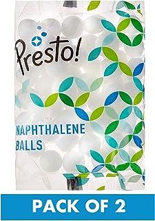 Amazon Brand - Presto! Naphthalene Balls - 200 g (Pack of 2)