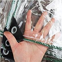 GYOWEI transparant zeildoek, dikker dubbelzijdige waterdichte tenten, balkonplant warmtehoezen voor raamplant kas, 0,3 mm,...