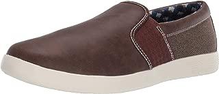 Ben Sherman Men's Parnell Gingham Slip on Sneaker
