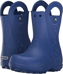 23ace5fc505b7 Crocs kids handle it rain boot toddler youth sea blue