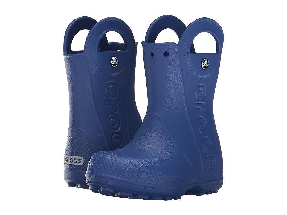 Crocs Kids Handle It Rain Boot (Toddler/Little Kid) (Cerulean Blue) Kids Shoes