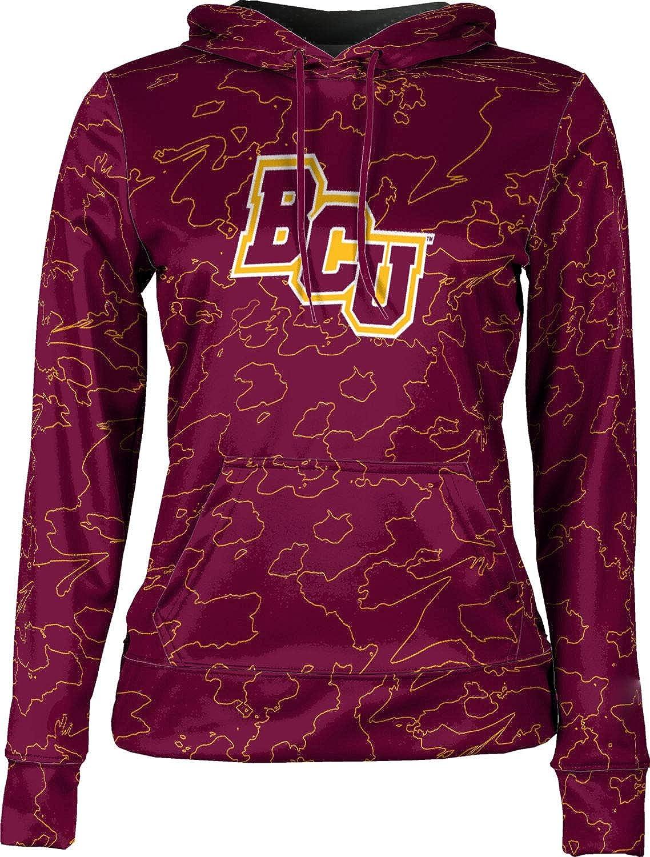 ProSphere Bethune-Cookman University Girls' Pullover Hoodie, School Spirit Sweatshirt (Topography)