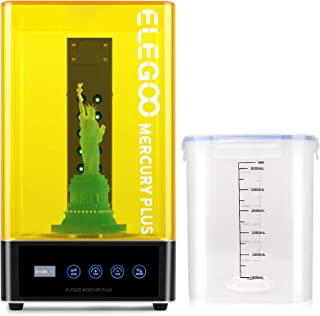 ELEGOO Mercury Plus 2 in 1 Washing and Curing Machine for Mars Photon S Photon Mono LCD/DLP/SLA 3D Printed Models Resin UV...